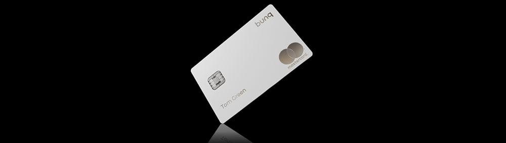 tarjeta Mastercard Bunq de metal