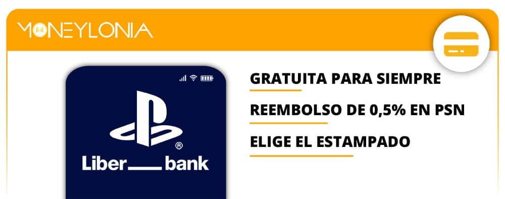 tarjeta de débito Mastercard PlayStation Liber_Bank