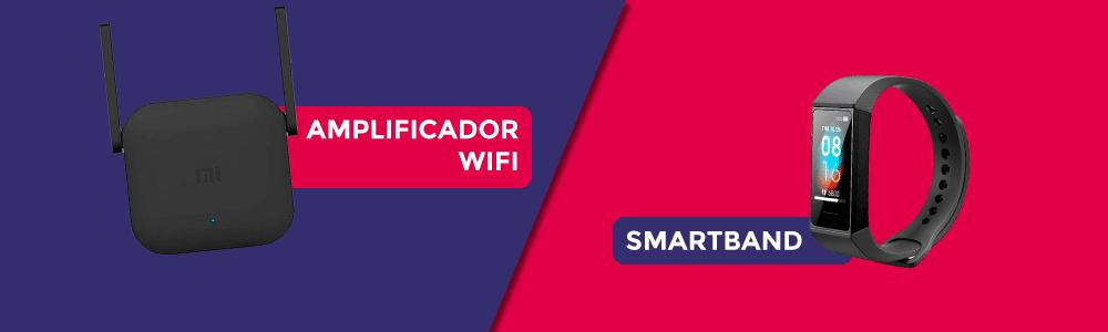 Con las altas en tarifas de solo fibra se tramiten hasta el 31 de enero de 2021 (incluido) Finetwork regala un amplificador WiFi o una smartband Xiaomi.
