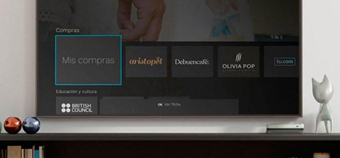 Movistar crea un escaparate en el televisor con Compras