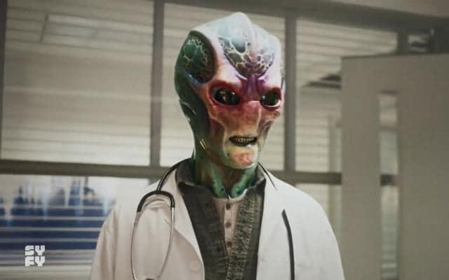 Resident Alien de SYFY
