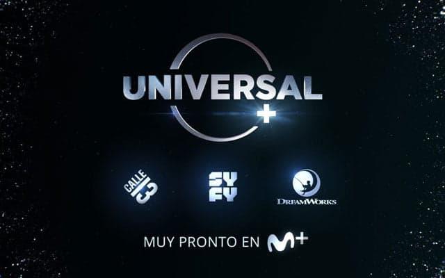 Universal+ en Movistar+