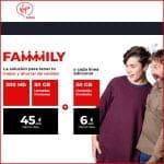 tarifa Family de Virgin Telco