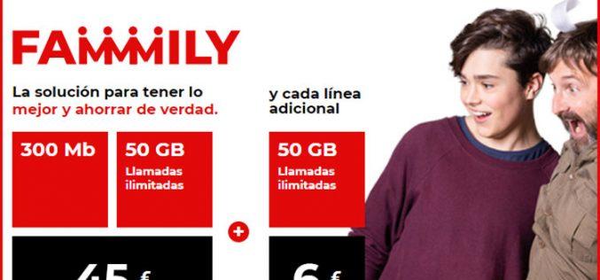 Virgin Telco amplía la familia con líneas adicionales y GB acumulables