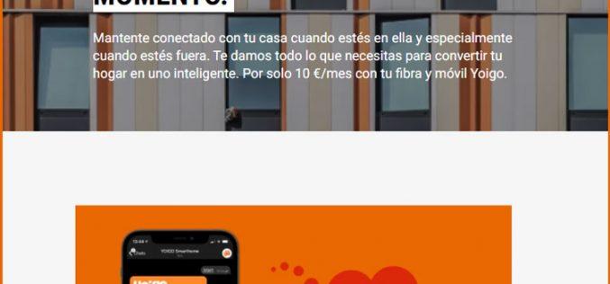 El cuarto operador piensa seguir diversificando: lanza Yoigo Smart Home