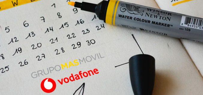 Vodafone y Masmóvil ponen fecha a su fusión