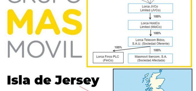 El principal accionista de Masmóvil, con sede en un paraíso fiscal, paga sus impuestos en España