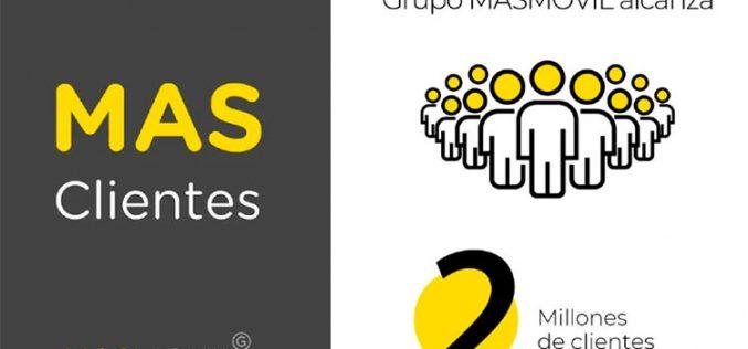 El grupo Masmóvil suma medio millón de clientes de banda ancha en un año