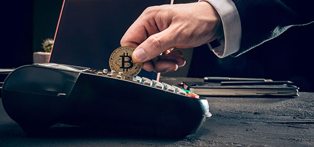 pagar con Bitcoin