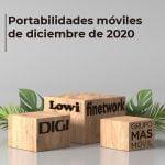 portabilidades móviles de diciembre de 2020