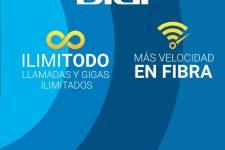 Digi se desata: lanza fibra óptica de 1Gbps y datos ilimitados