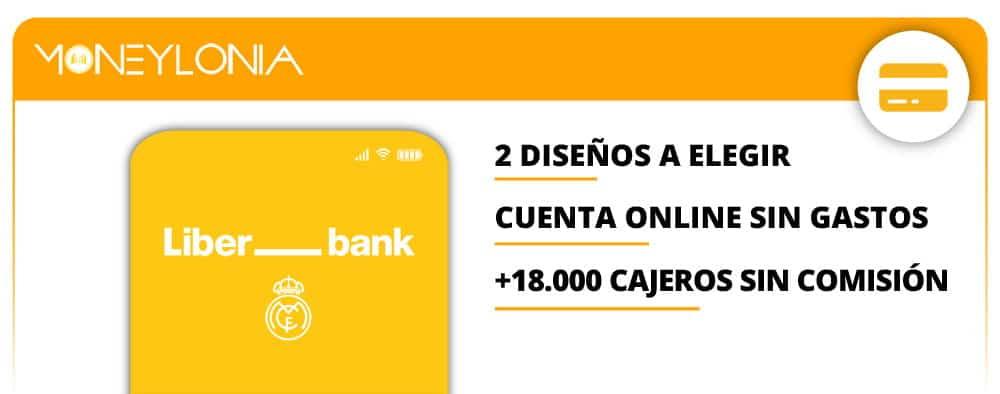 tarjeta Mastercard Real Madrid de Liber_Bank