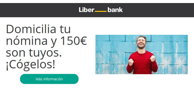 Abrir una Cuenta Online Nómina de Liber_Bank