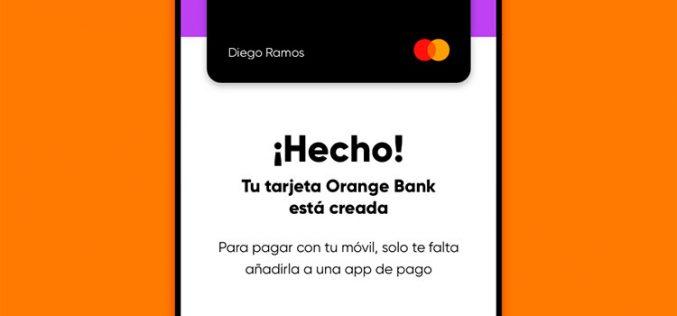 Abrir una cuenta Orange Bank con una línea móvil tiene premio: hasta 25€