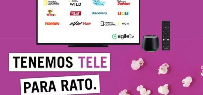Yoigo mejora su oferta de televisión con Agile TV premium