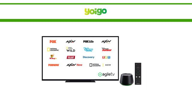 Agile TV premium en Yoigo