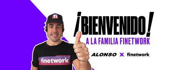 Finetwork patrocina a Fernando Alonso