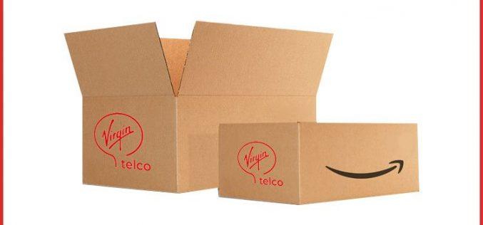 Virgin Telco encaja sus tarifas de fibra y móvil en Amazon