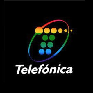 logotipo de Telefónica en 1993