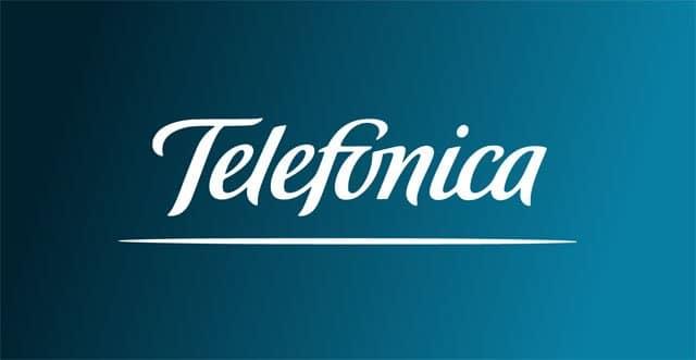 logotipo de Telefonica en 1998