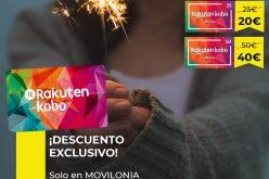 Los ebooks y audiolibros de Rakuten Kobo por un 20% menos