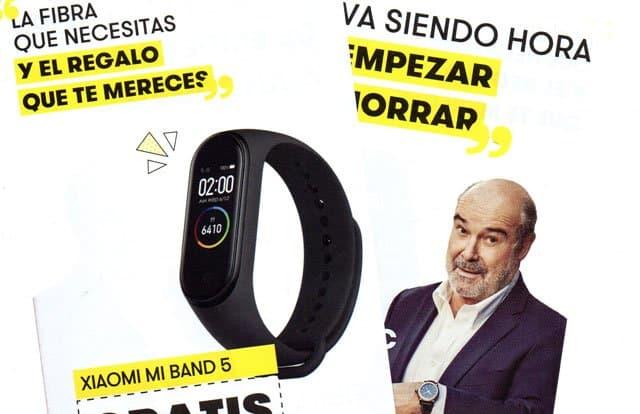 oferta regalo de pulsera Xiaomi con Masmóvil