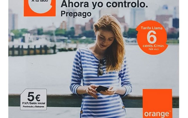 tarjeta SIM prepago Orange Llama