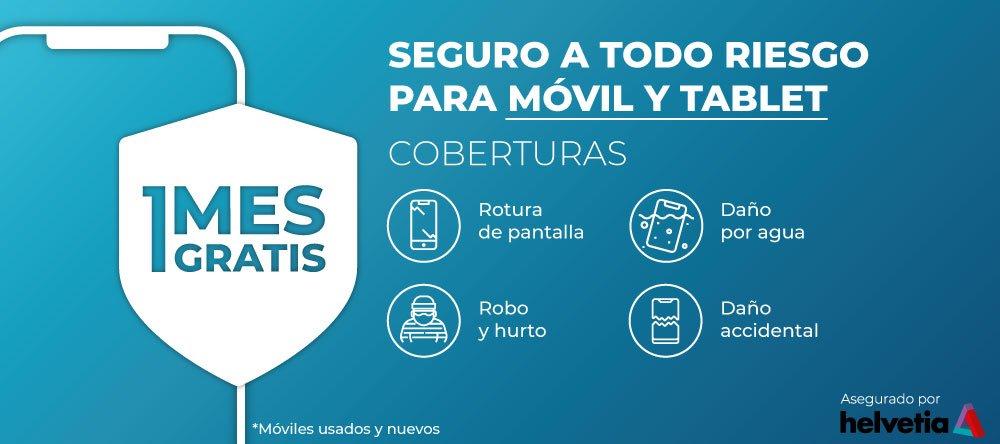 seguro para móvil o tablet
