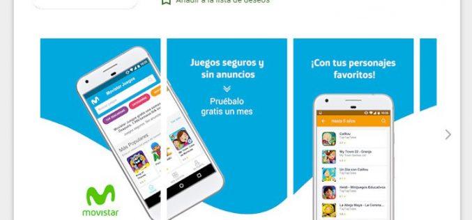 Movistar Juegos, nuevo servicio de suscripción para Android