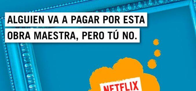 Yoigo no se quita el sayo de la TV: regala Netflix durante seis meses