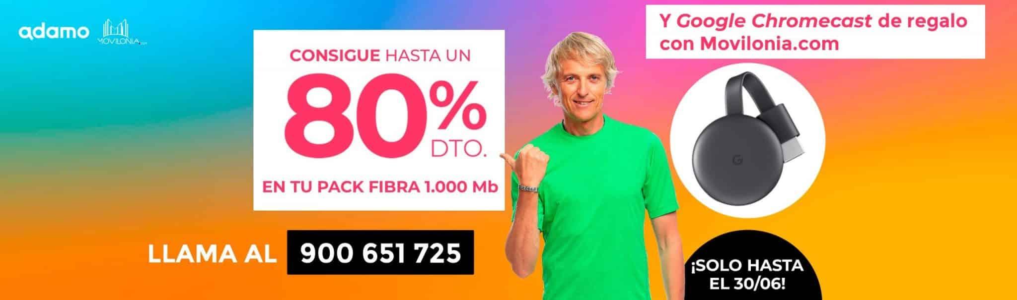 oferta especial Adamo Movilonia.com