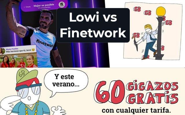 comparativa de Lowi vs Finetwork
