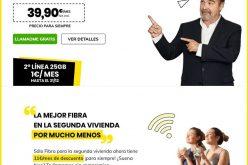 Masmóvil promociona su fibra para segundas residencias y las convergentes con varios móviles