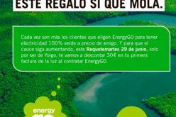 El nuevo Requetemartes de Yoigo ve la luz: 30€ de descuento en EnergyGO