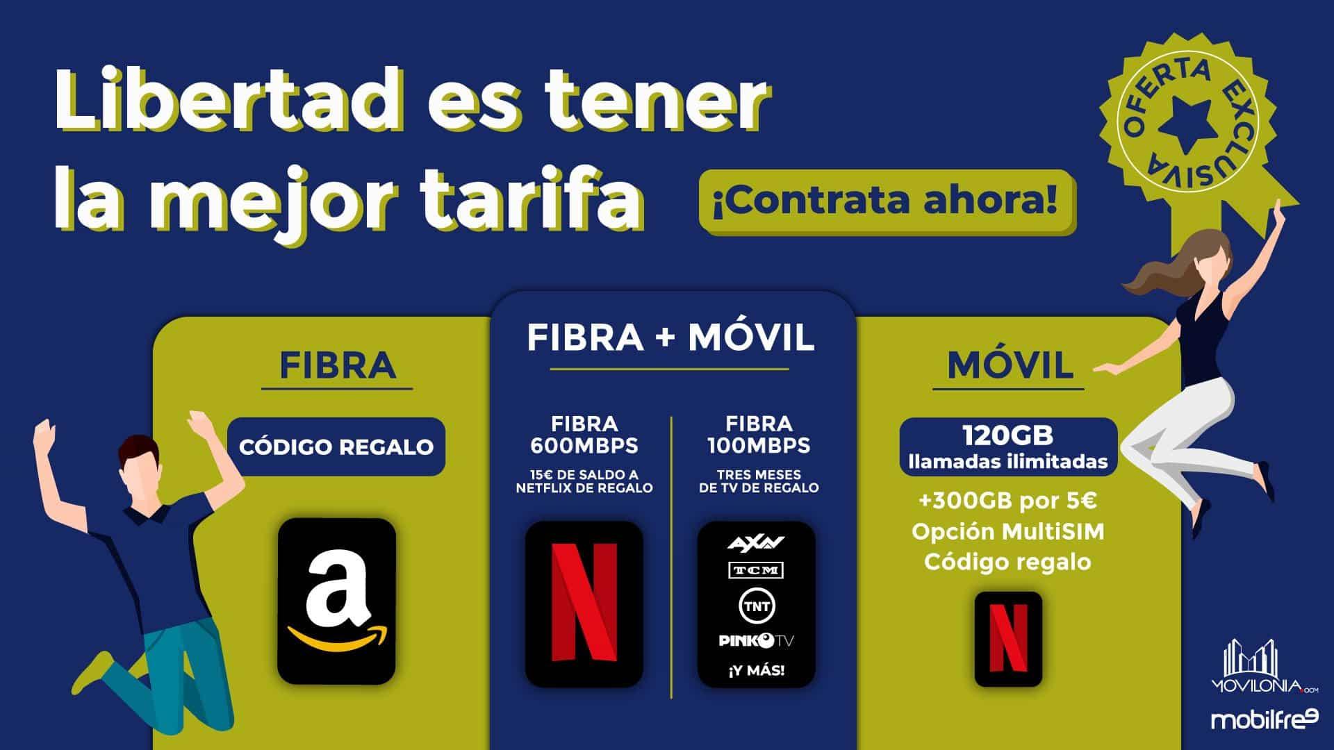 oferta especial Mobilfree Movilonia.com