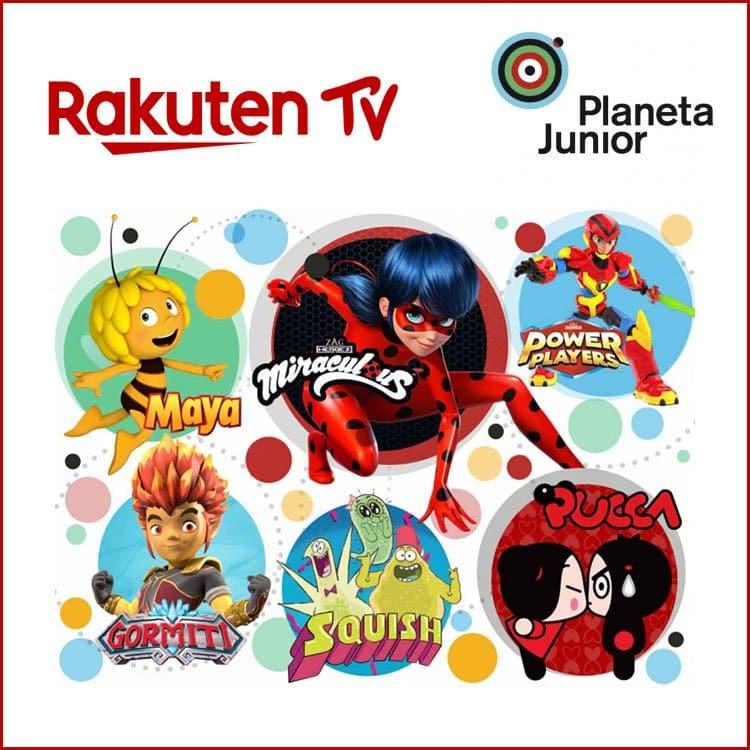 El canal Planeta Junior se incorpora a Rakuten TV   Movilonia.com
