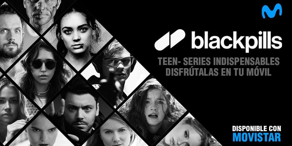 blackpills series cortas Movistar