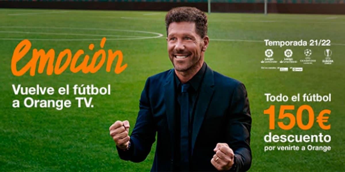 Nuevas tarifas Orange Love con fútbol