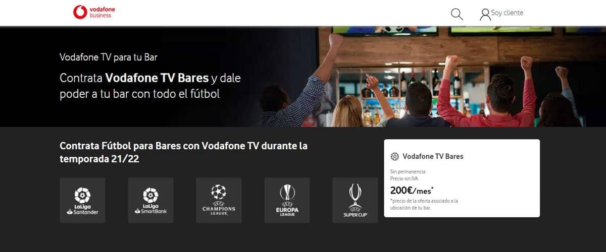 Vodafone TV Bares 2021
