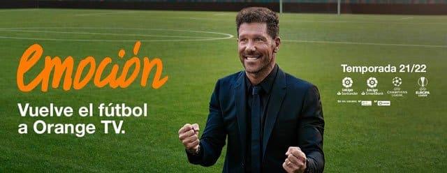tarifas con fútbol de Orange Love