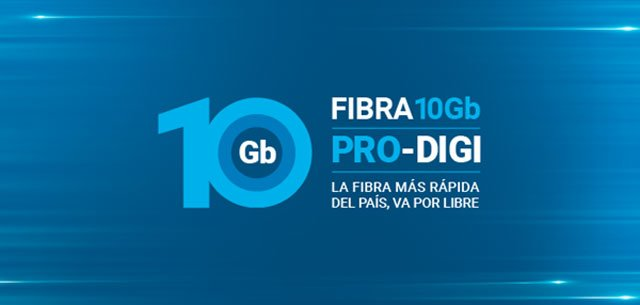 fibra óptica PRO DIGI de 10Gbps