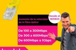 Jazztel aumenta la velocidad su fibra óptica en algunas de sus tarifas