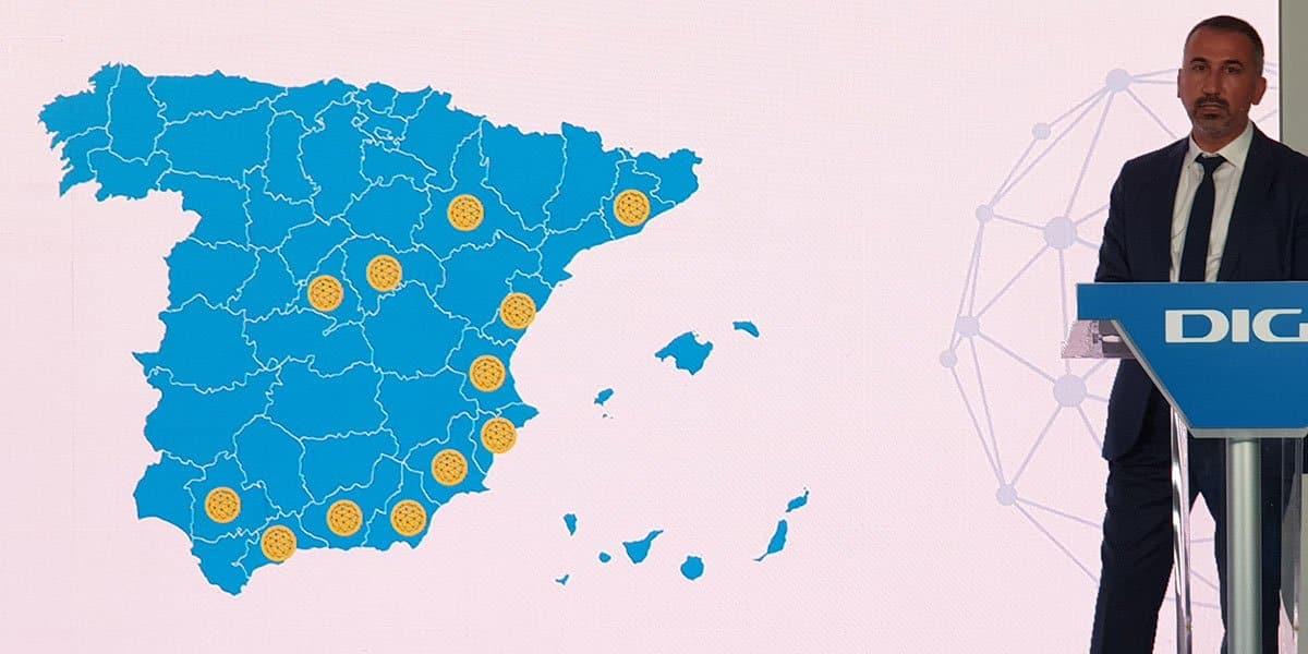 cobertura de fibra Smart de Digi en España