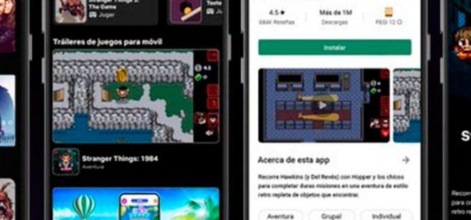 Pelis, series y videojuegos: Netflix España evoluciona