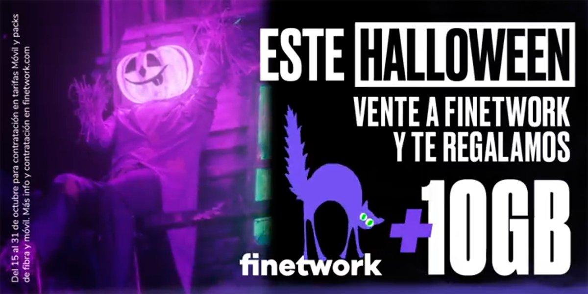 Oferta Halloween Finetwork 2021