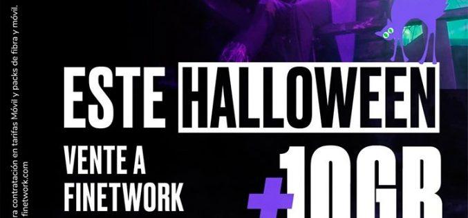 Finetwork prefiere los dulces en Halloween: 10GB gratis a nuevos clientes