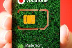 Vodafone comienza a ofrecer tarjetas SIM de plástico reciclado